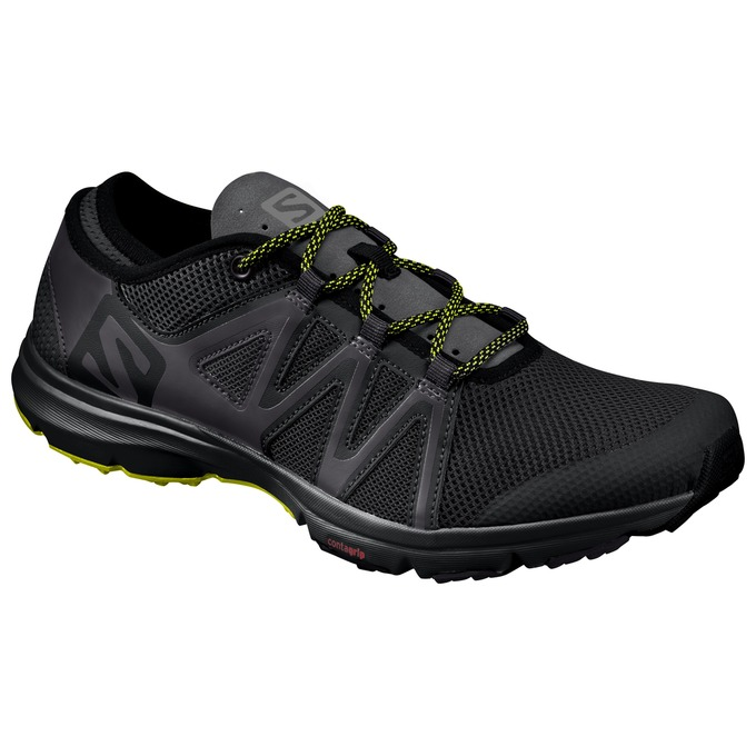Chaussure Running Salomon Crossamphibian Swift Homme Noir - France (191RSYKJ)