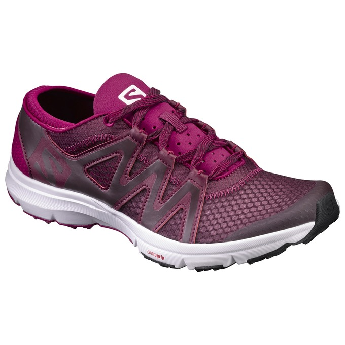 Chaussure Running Salomon Crossamphibian Swift W Femme Violette - France (658NYOZU)