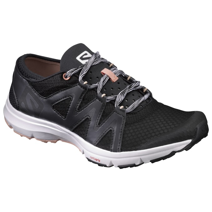 Chaussure Running Salomon Crossamphibian Swift W Femme Noir - France (358ADJGZ)