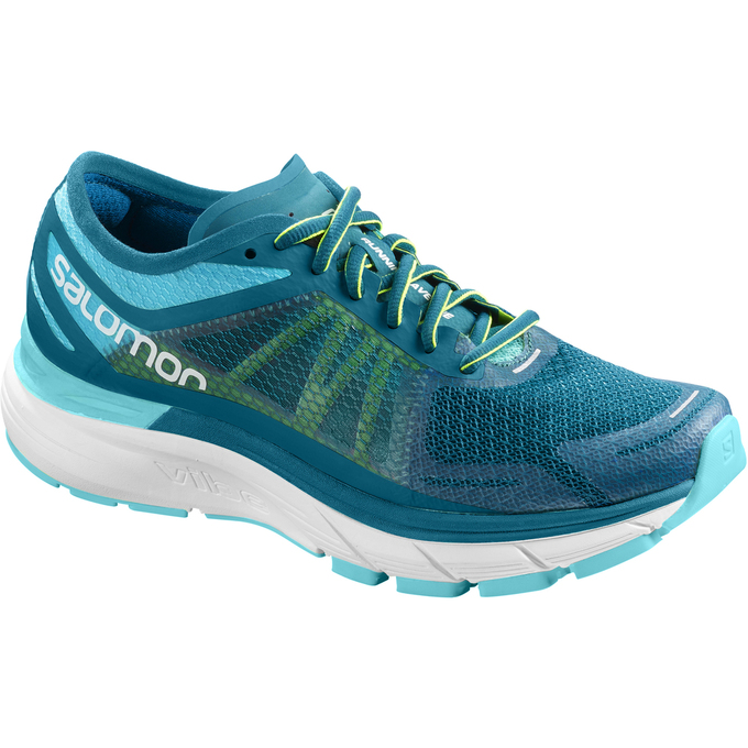 Chaussure Running Salomon Sonic Ra Max W Femme Turquoise Clair - France (736VQPGA)