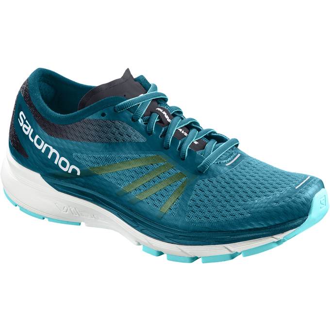 Chaussure Running Salomon Sonic Ra Pro W Femme Turquoise - France (221SGLVU)