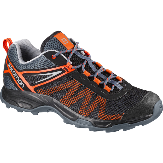 Chaussure Running Salomon X Ultra Mehari Homme Noir Orange - France (534MCZOK)