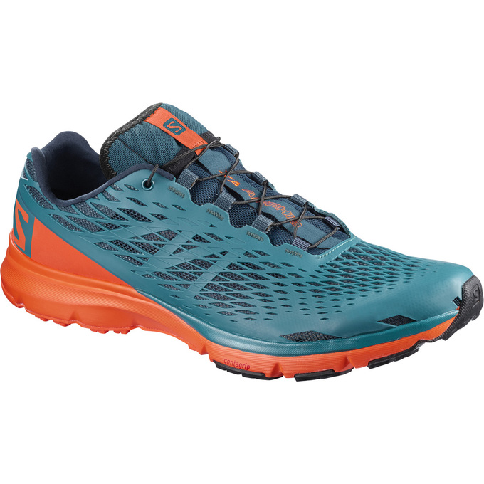 Chaussure Running Salomon Xa Amphib Homme Bleu/Orange - France (686ZVJLS)
