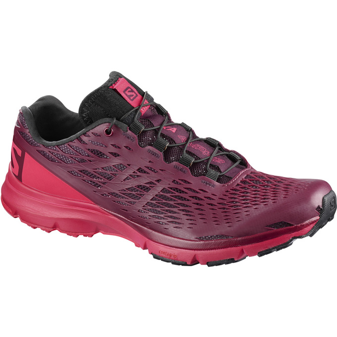 Chaussure Running Salomon Xa Amphib W Femme Bordeaux - France (423IDVFS)