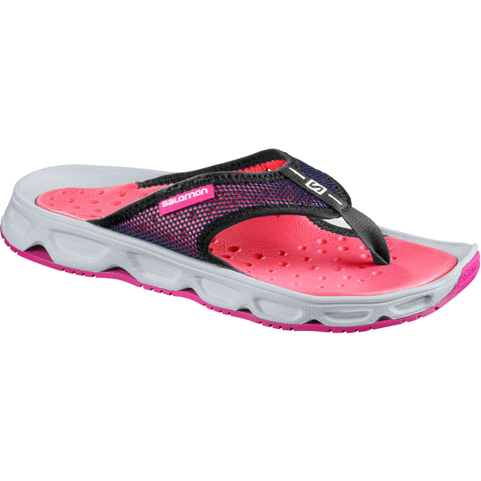 Tong Salomon Rx Break W Femme Rose/Grise - France (836HERPK)